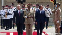 Macron im Irak