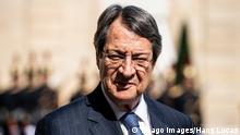 Frankreich Der Präsident der Republik Zypern Nicos Anastasiades zu Besuch in Frankreich