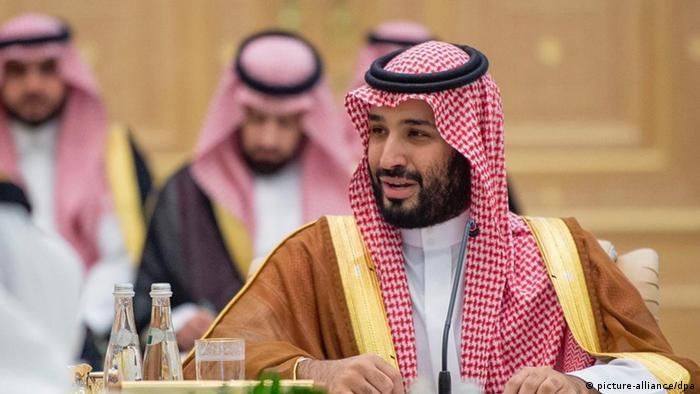 Saudischer Kronprinz in Abu Dhabi (picture-alliance/dpa)