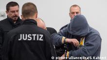 Deutschland Mitglied der Terrorgruppe Freital vor Gericht
