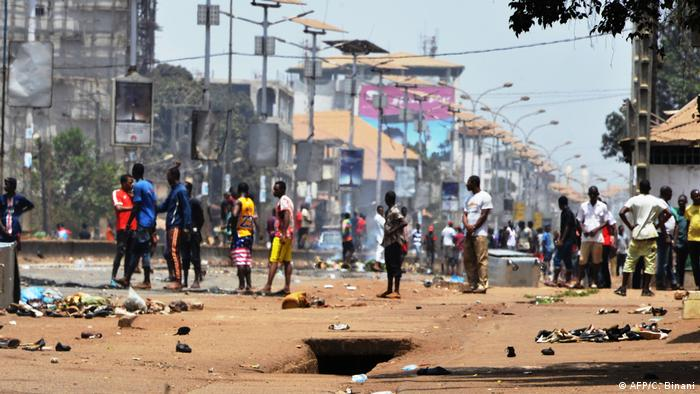 Guinea Protest in Conakry