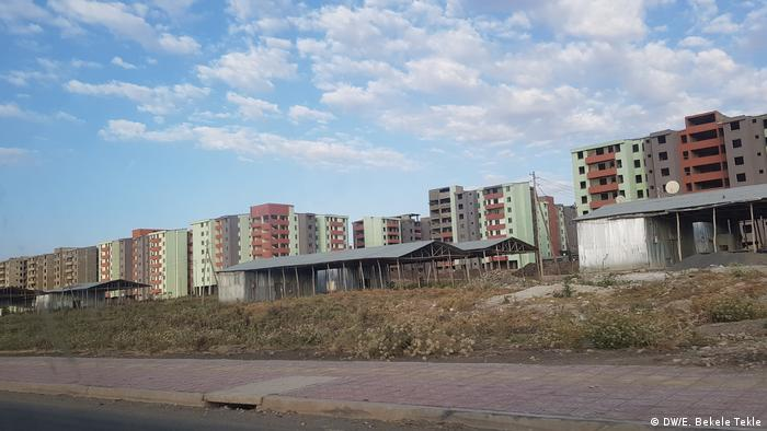Äthiopien   Feche Housing Development project in Addis Abeba