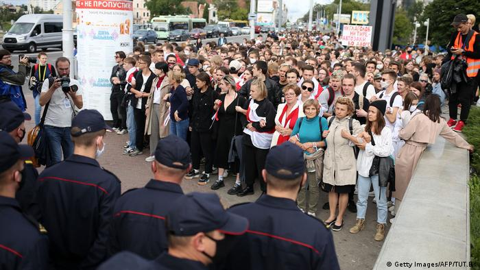 Manifestații împotriva rezultatului alegerilor prezidențiale din Belarus