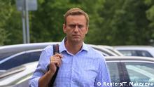Russland Moskau Nawalny