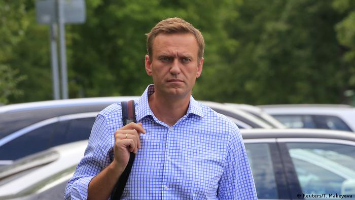 O líder oposicionista russo Alexei Navalny
