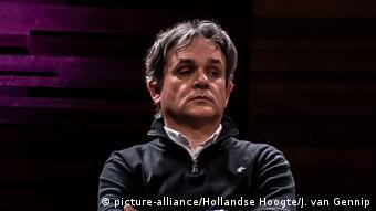 Laurent Sourisseau, Redaktionsleiter von Charlie Hebdo 2020 (Bild: picture-alliance/Hollandse Hoogte/J. van Gennip)