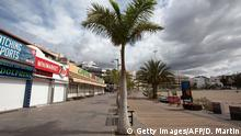 Spanien Corona-Pandemie | Kanaren jetzt Risikogebiet Symbolbild