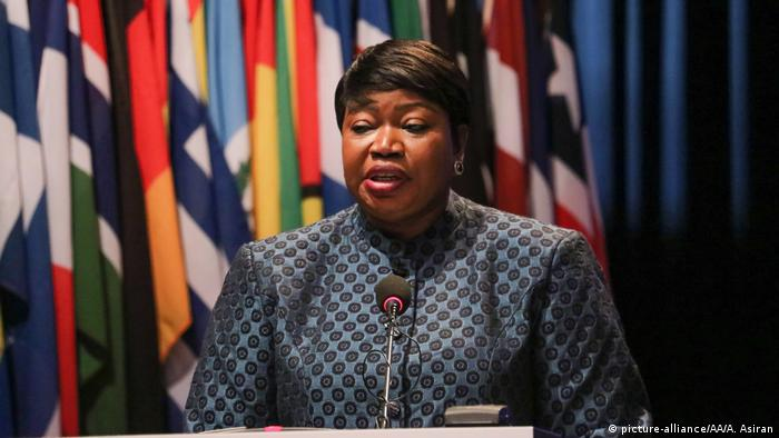 Fatou Bensouda, fiscal de la Corte Penal Internacional (CPI)