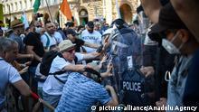 Bulgarien Sofia |Anti-Regierungsproteste