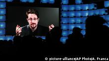 Portugal Lissabon Web Summit 2019 |Edward Snowden