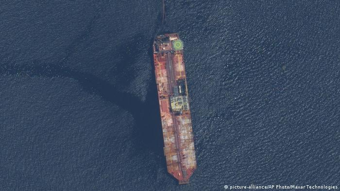 Venezuela - Trinidad und Tobago  Sinkender Öltanker FSO Nabarima