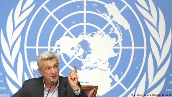 UN-Flüchtlingskommissar Filippo Grandi: Den minderjährigen Flüchtlingen nicht die Zukunft rauben (Foto: picture-alliance/dpa/S. Di Nolfi)