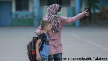 Gazastreifen Schule UN Flüchtlingslager Al-Shati