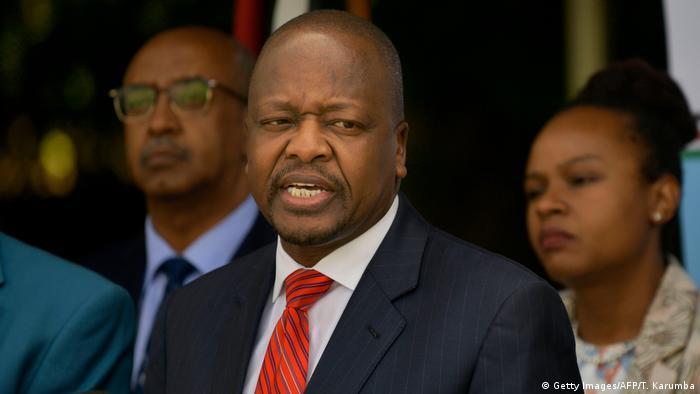 Kenyan Health Minister Mutahi Kagwe