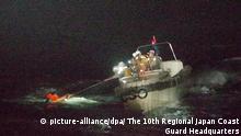 Japan | Verschollenes panamaisches Frachtschiff | Rettung eines Besatzungsmitgliedes