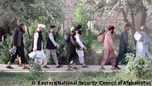 عکس از آرشیف: زندانیان طالبان در هنگام رهایی از زندانهای افغانستان