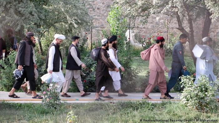 Afghanistan Freilassung Taliban-Kämpfer