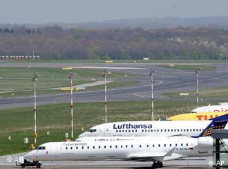 Aviones europeos a la espera de una regulación común.