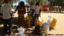 Mosambik Nampula Lebensmittel für Vertriebene