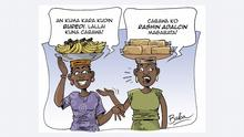 Cartoon Preisanstieg in Nigeria