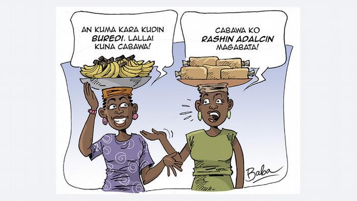Cartoon Preisanstieg in Nigeria