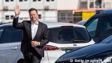 Deutschland Grünheide Elon Musk