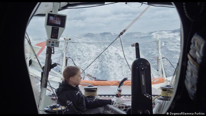 Filmstill aus dem Dokumentarfilm I am Greta