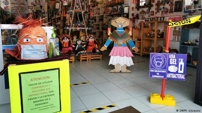 Mexiko Magisches Dorf Almeaco (DW/M. Vázquez)