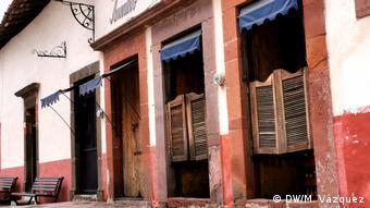 Locales vacíos en Amealco, México. (DW/M. Vázquez)