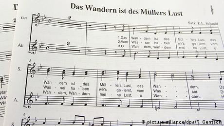 Symbolbild | Musik Noten Volkslieder