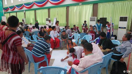 Konferenz Enthnischer Medien Myanmar Gruppe (DW)