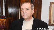 Oliver Belopeta Direktor des Jazz Festivals in Skopje, Nordmazedonien Datum: Unbekannt Petr Stojanovski