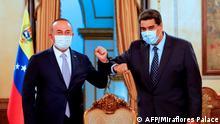 Venezuela Besuch Außenminister Cavusoglu Türkei bei Maduro