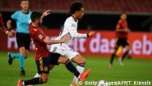 Fußball Länderspiel Stuttgart Deutschland vs Spanien