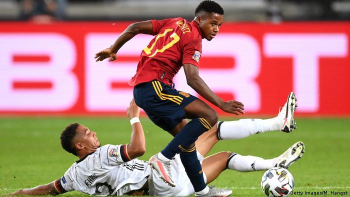 UEFA Nations League Deutschland Spanien Ansu Fati