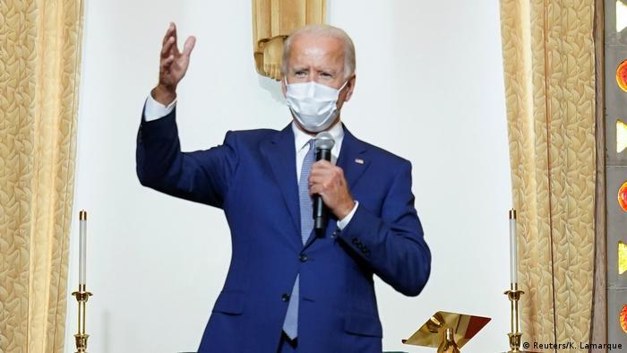 USA Kenosha Besuch Joe Biden (Reuters/K. Lamarque)