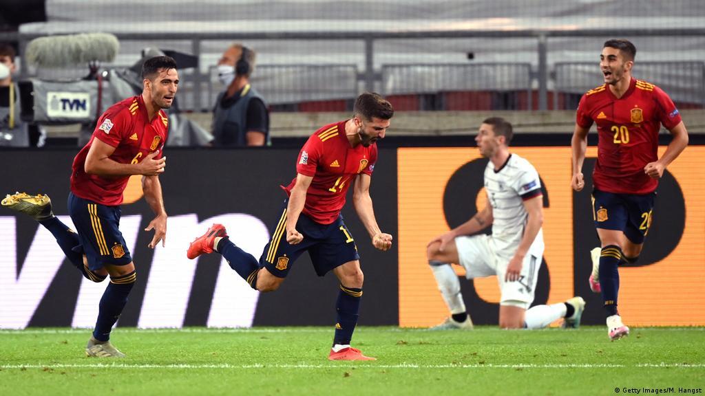 Uefa Nations League Last Gasp Spain Strike Denies Germany