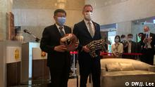 Taiwan Taipeh Zdenek Hrib Bürgermeister von Prag