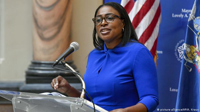 USA Rochester Bürgermeisterin Lovely Warren