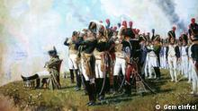 Napoleon bei Borodino. Gemälde des russischen Malers Wassili Wereschtschagin, 1897 https://de.wikipedia.org/wiki/Schlacht_bei_Borodino#/media/Datei:Vereshagin.Napoleon_near_Borodino.jpg