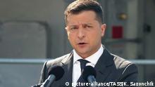 Ukraine Odessa Präsident Wolodymyr Selenskyj