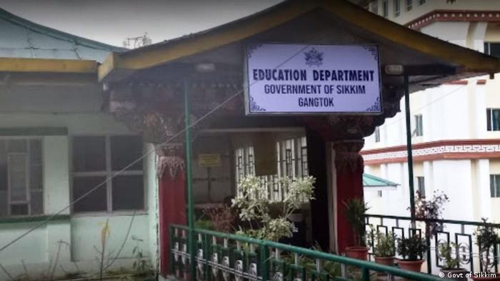 Indien Gangtok   Abteilung für Bildung (Govt of Sikkim)
