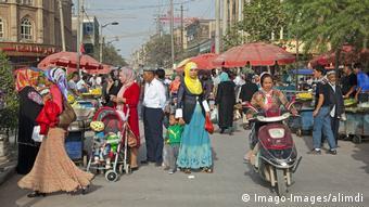 A Kashgar, dans le Xinjiang