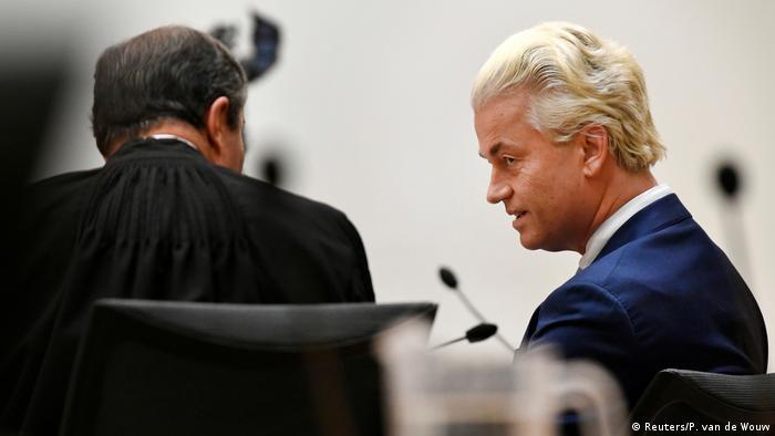 Dutch far-right politician Geert Wilders (Reuters/P. van de Wouw)