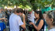 Bulgarien Sofia | Verletzte nach Polizeieinsatz während der Antiregierungsproteste