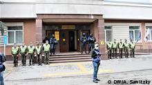 Ukraine Kiew Gerichtsverhandlung Mordfall des Journalisten Pawel Scheremet