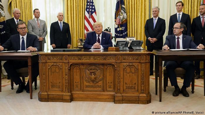 Sporazum u Vašingtonu potpisan je 4. septembra 2020.