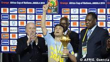 Fußball Afrika Cup Finale Ägypten vs Ghana | Pokalübergabe