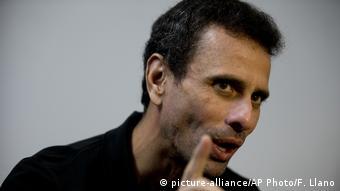 Venezuela Henrique Capriles