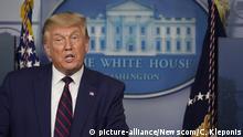 USA PK Trump im Weißen Haus